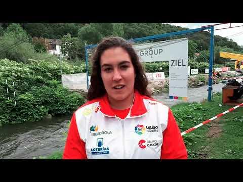 Miren Lazkano (ESP) - 2017 ECA Junior&U23 Canoe Slalom European Championships