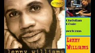 Because I Love You - Lenny Williams instrumental perf by Ch Rössle