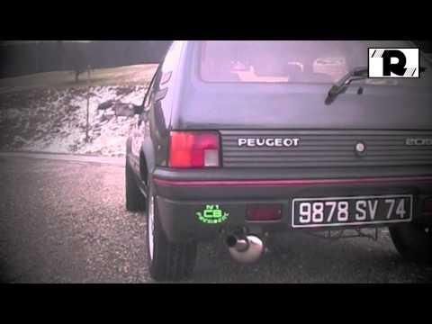 LIGNE ECHAPPEMENT GROUPE N OMP PEUGEOT 205 1,6 1,9 GTI EN INOX