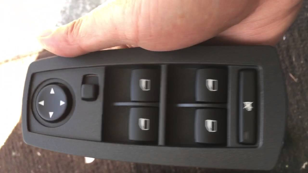2004 Bmw X3 E83 Mirror Switch Replacement Youtube