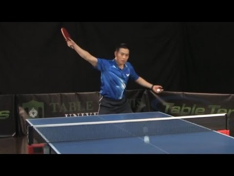 How To Develop An Aggressive Backhand - Table Tennis University
