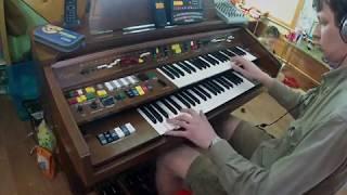Гостья из будущего - музыка из титров, орган Yamaha Electone B-805
