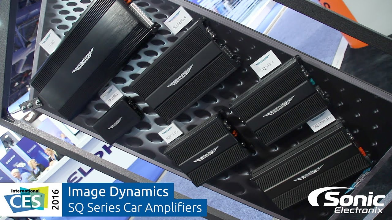 image dynamics sq series car amplifiers ces 2016 youtube