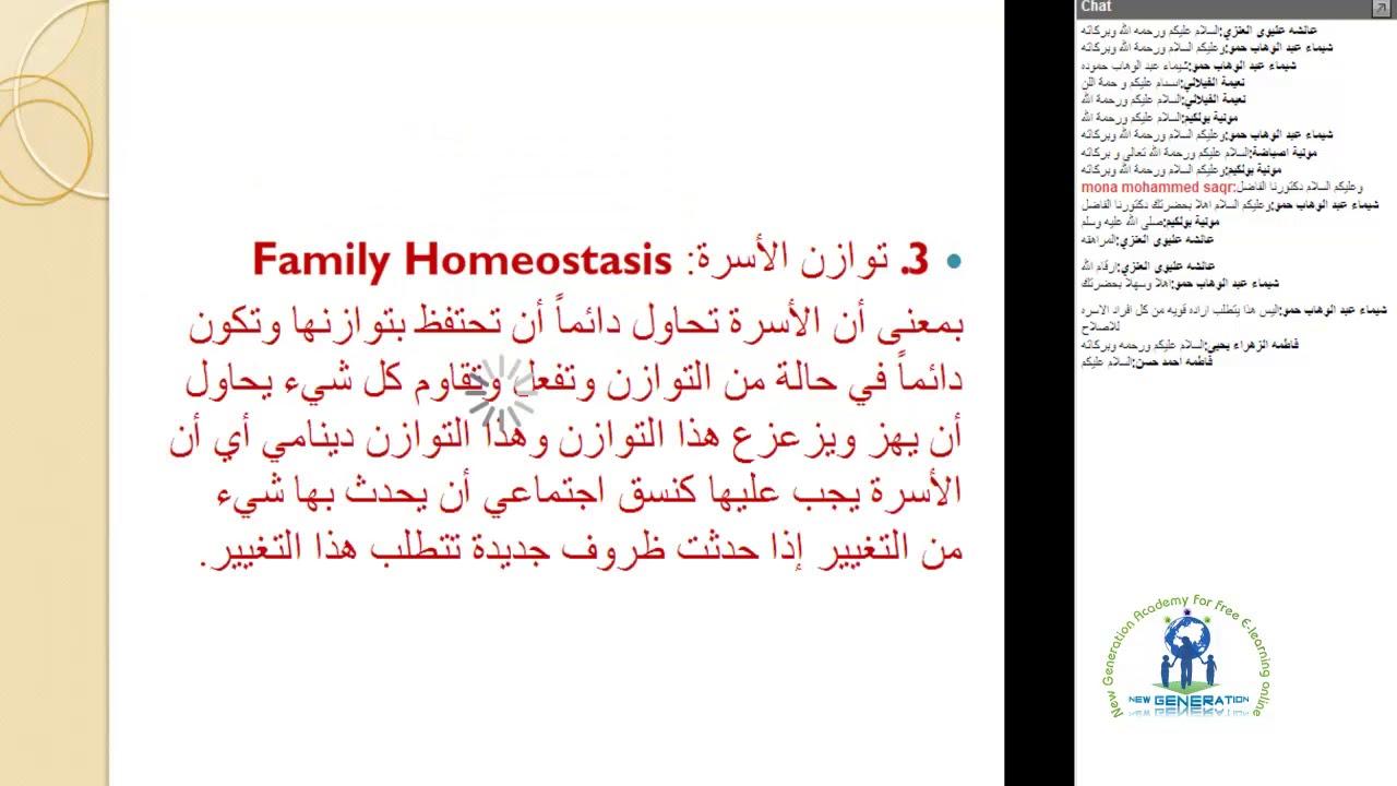 NGA دبلوم المستشار الاسري والتربوي مع المدرب يحي محمد أمين جاد المحاضرة3