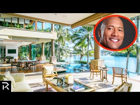 Inside The Rock's $100 Million Dollar Mansions