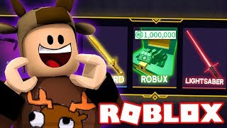 SPENDING $1,000,000 ROBUX ON KNIFE CRATES IN ROBLOX! (Roblox Phantom Forces)