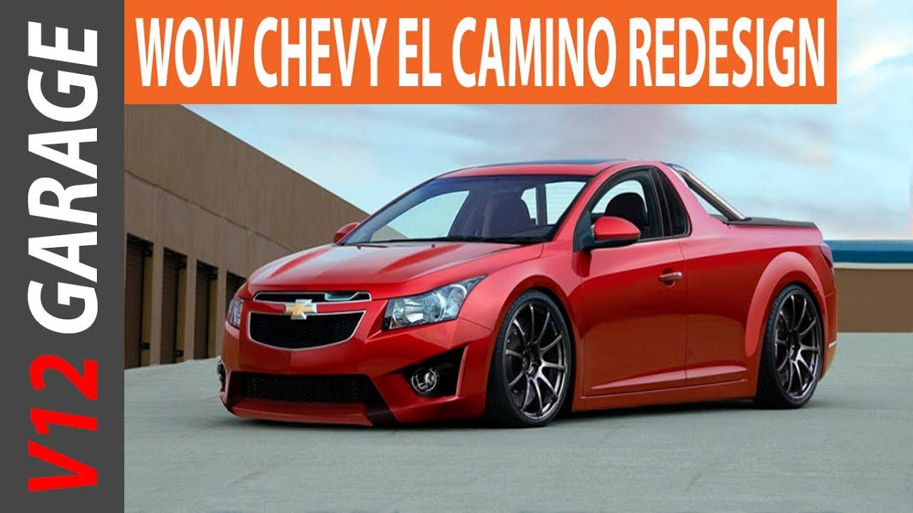 Chevelle Concept 2017 >> HOT NEWS !! 2018 Chevrolet El Camino Concept and Specs - YouTube