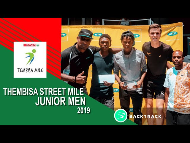2019 Tembisa Mile Junior Men