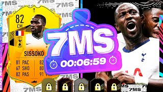 THE MOST OP CM ON FIFA!! 82 RTTF SISSOKO 7 MINUTE SQUAD BUILDER!! - FIFA 21 ULTIMATE TEAM