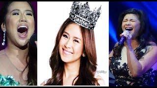 10 BOMBA HIGH NOTES on Philippine TV l Sarah G, Morissette, Charice, Regine, Kyla