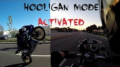 My 1st Time Riding A TRIUMPH SPEED TRIPLE 1050 | HOOLIGAN MODE ENGAGED !!!