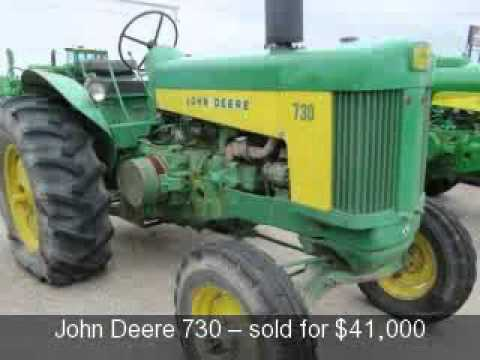 Antique Tractor Auction Results, Polk Auction