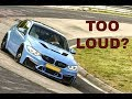 Straight Pipe BMW M3 F80 Too Loud for the Nordschleife