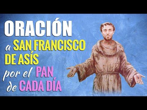 🙏 Oración a San Francisco de Asís por EL PAN DE CADA DÍA 🥖
