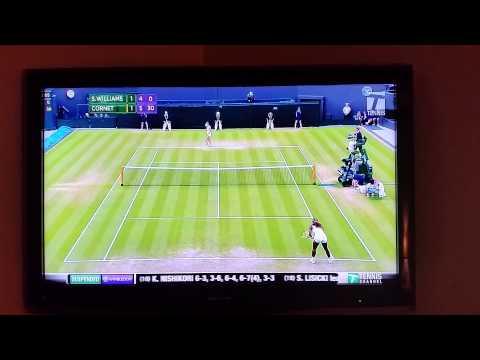 Wimbledon 2014 S. Williams loses to A. Cornet