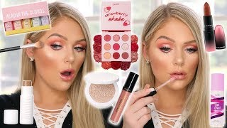 TESTING NEW VIRAL OVERHYPED MAKEUP | GET READY WITH ME