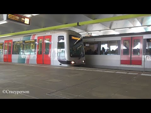 Metro (H)SG3, MG2/1 Zuidplein Rotterdam Marathon 2018