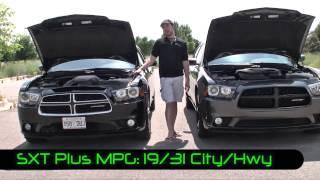 Real Comparison: 2013 Dodge Charger R/T MAX v. SXT Plus V6