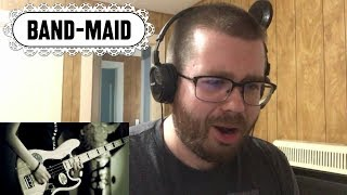 BAND-MAID / REAL EXISTENCE Reaction!