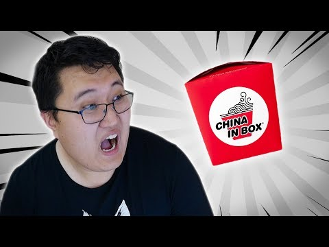 "Chinese Guy Reacts to China in Box Brazilian ""Chinese Food"""