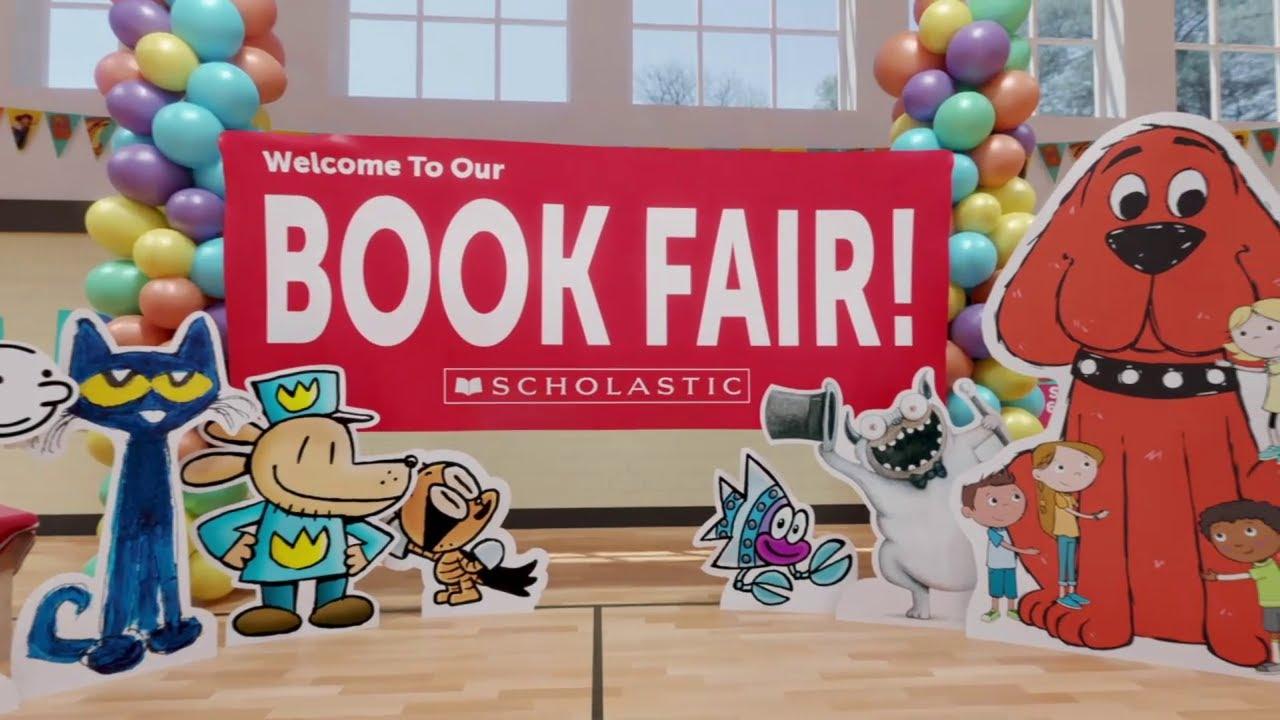 Scholastic Book Fairs - Virtual Book Fair - YouTube