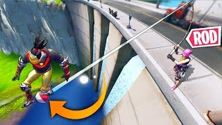 *NEW* OP FISHING ROD TRICK..!! | Fortnite Funny and Best Moments Ep.605