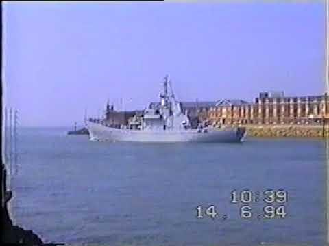HMS Lindisfarne, Royal Navy Fisheries Patrol Ship