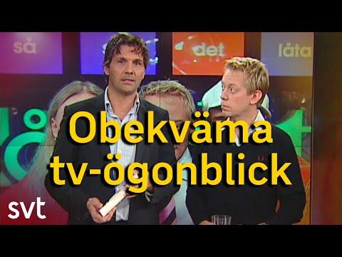 SVT:s obekvämaste tv-ögonblick