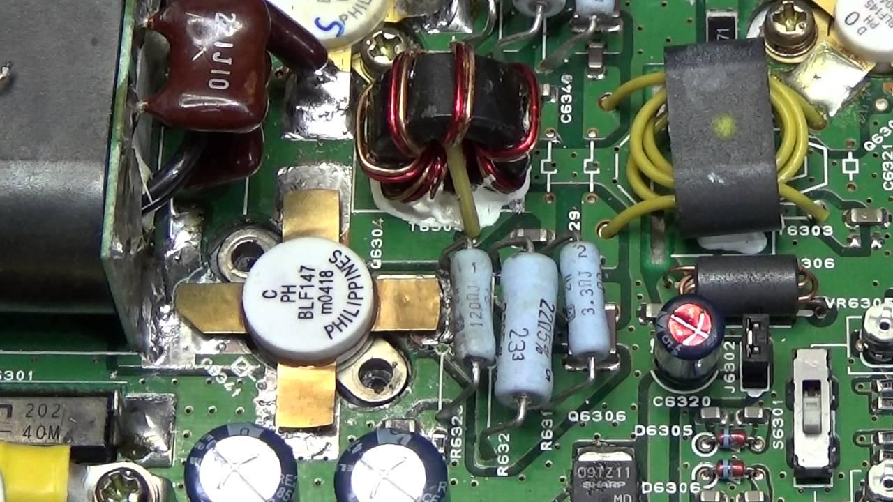 #88 HAM Radio Repair: 200W Yaesu FT-1000 Mark V with blown PA