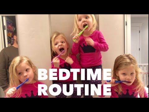 THE QUADRUPLETS BEDTIME ROUTINE