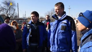 В ОБСЄ звітують про зменшення кількості обстрілів на Донбасі?>