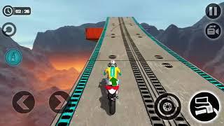 Impossible Motor Bike Tracks | Lvl 13-14 Walkthrough (Android Gameplay )