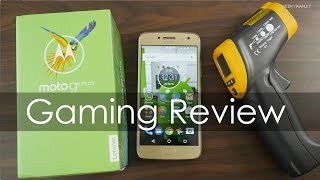 Moto G5 Plus Gaming Review with Heating Check