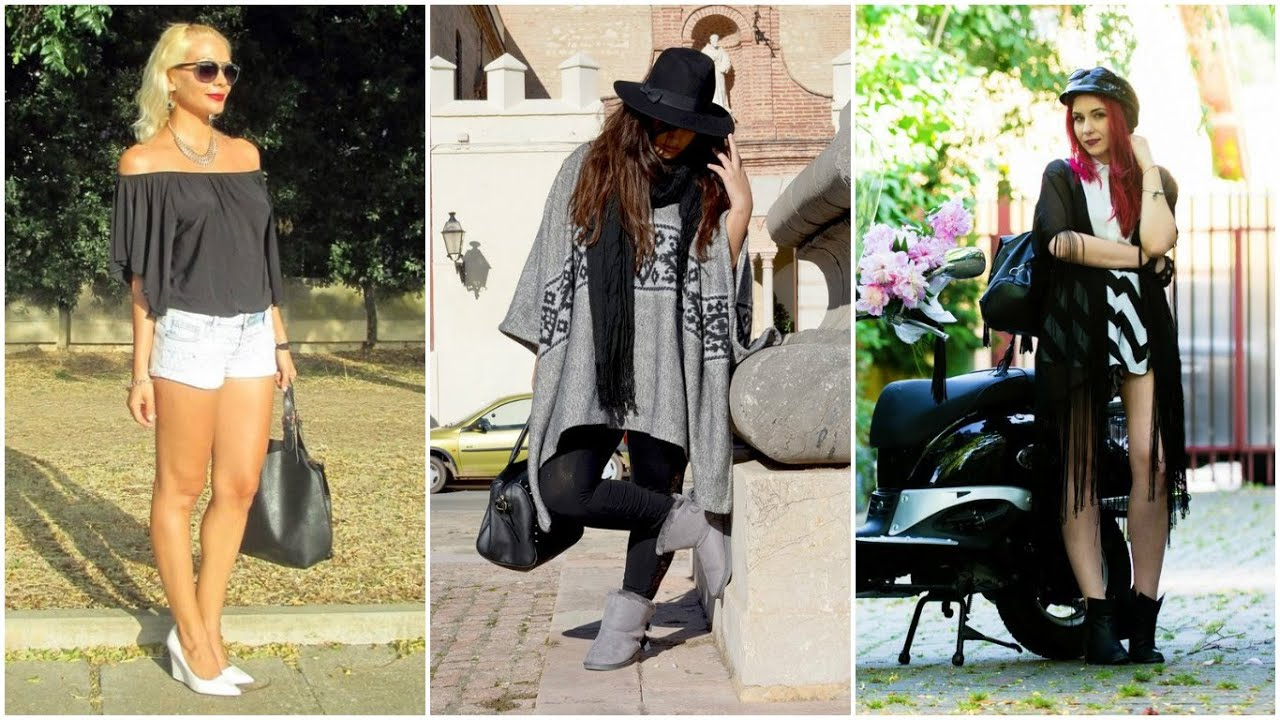 OUTFITS DE TEMPORADA CASUALES 2016 , Outfits Moda Mujer ♥ , YouTube