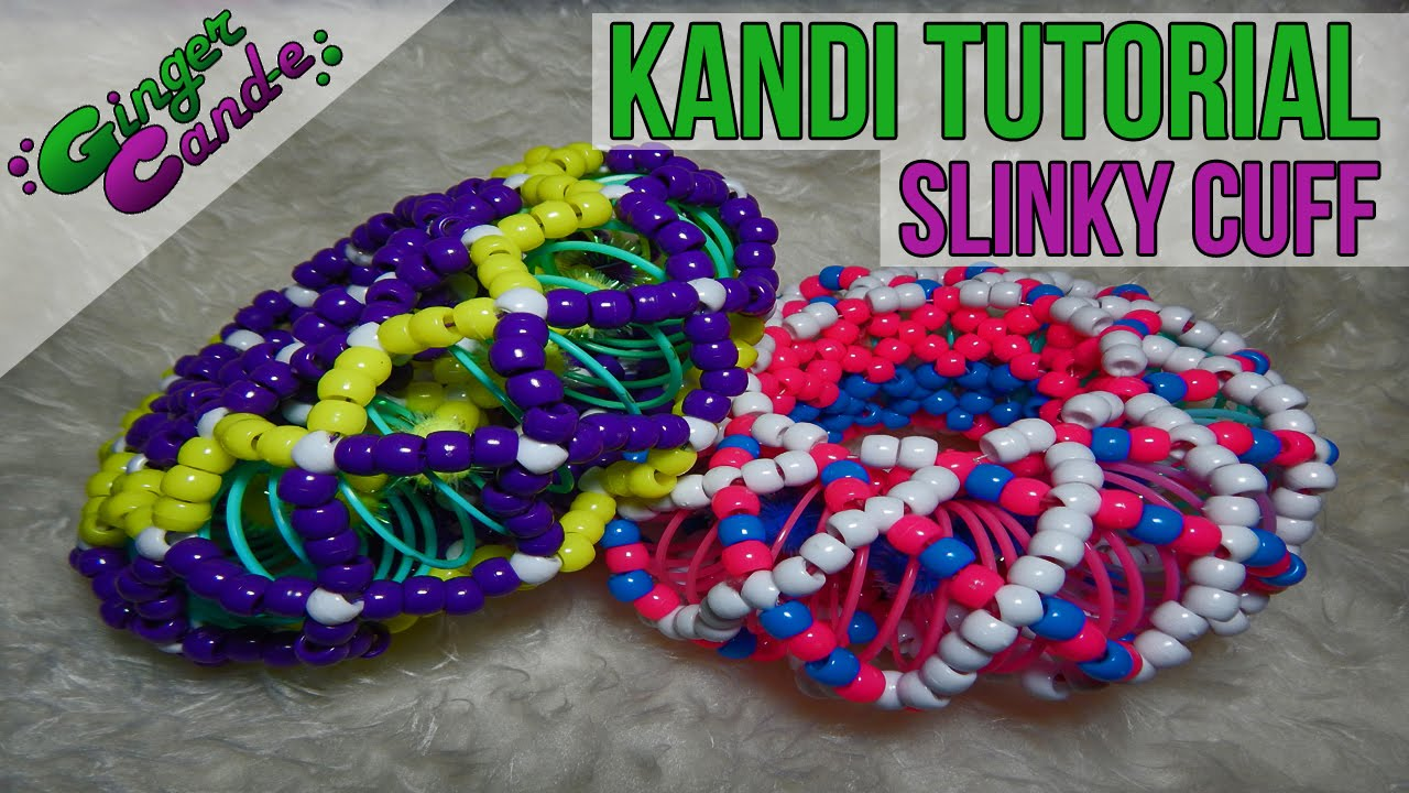 How To Make A Slinky Cuff Kandi Tutorial