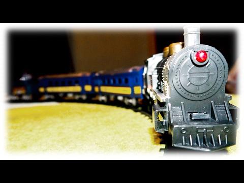 Union Pacific Railroad with Passenger Train