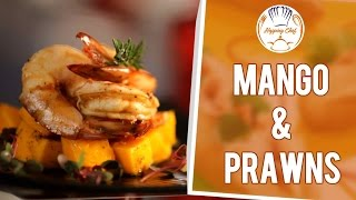 How to Make Mango & Prawns by Chef Michael || Hopping Chef