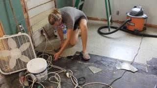 How We Remove Asbestos Floor Tiles