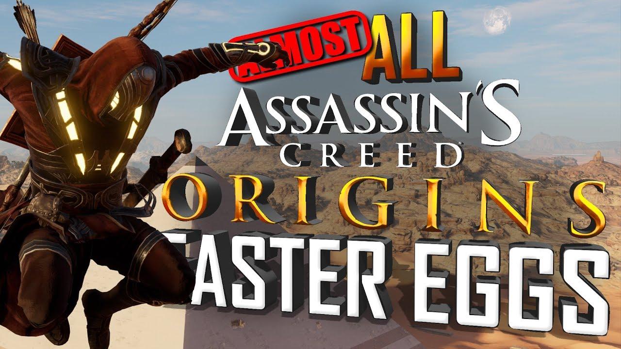All Assassin's Creed: Origins Easter Eggs - YouTube
