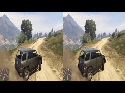 GTAV 3d SBS Nvidia