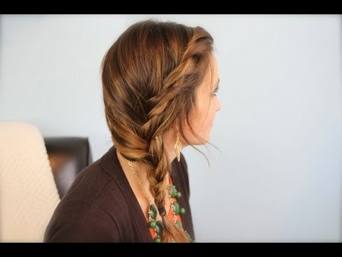 Subtle Twist Side Braid Cute Girls Hairstyles Youtube