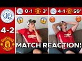 MAN UTD FAN RAGES REACTING TO QPR 4-2 MAN UTD 😡 | QPR VS MANCHESTER UNITED PRE SEASON MATCH REACTION