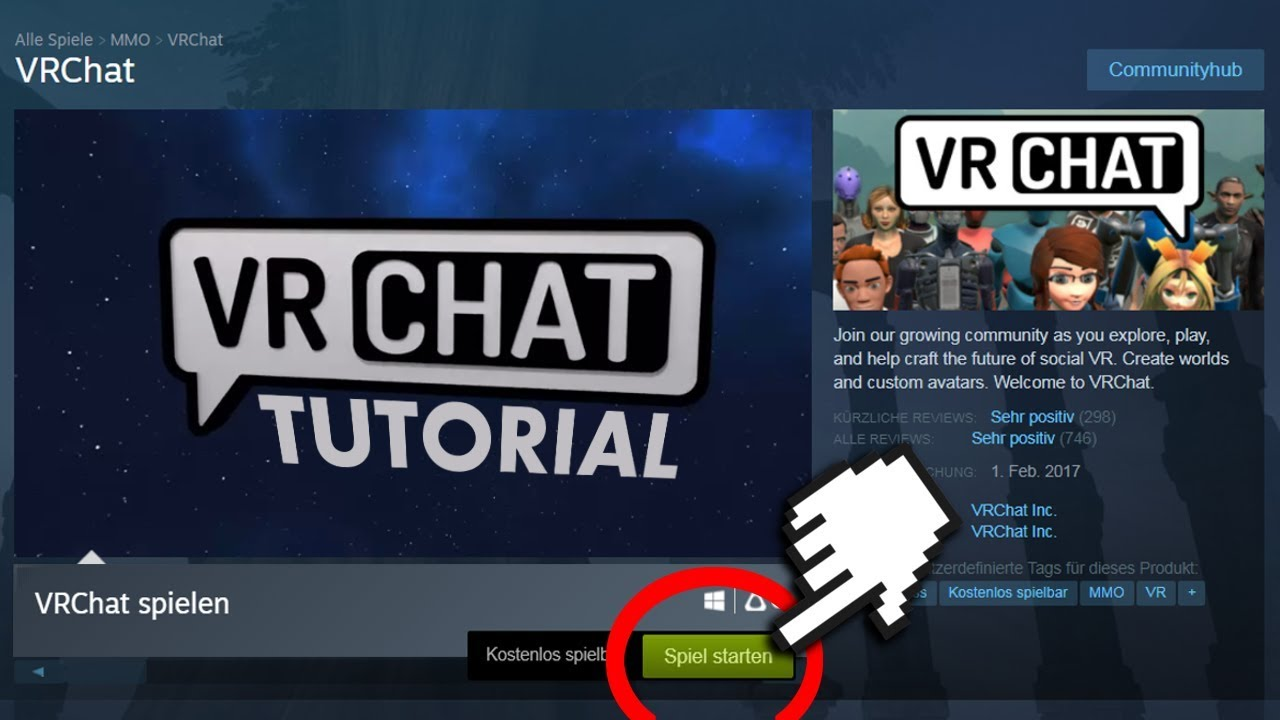 🇩🇪 VRChat Tutorial - Was ist VR Chat? Username ohne Nummer?