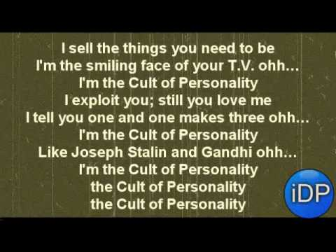 Cult Of Personality [LYRICS]