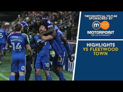 HIGHLIGHTS | Fleetwood Town vs The Posh