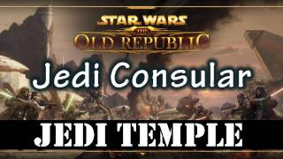 SWTOR Beta - Tython Jedi Temple and Kalikori Village (Jedi Consular Gameplay)