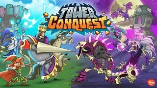 Tower Conquest (By TangoMe, Inc.) - iOS / Android - HD Gameplay Trailer (iPhone 7 Gameplay)