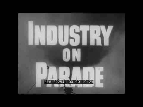 INDUSTRY ON PARADE 1960  LAMINATED VENEER & PLYWOOD PRODUCTS  MINESWEEPERS & BASEBALL BATS 90254a
