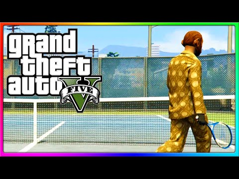 GTA 5 Online - Tiger Woods Give Me Power, Rory McIlroy Give Me Strength! (GTA V)