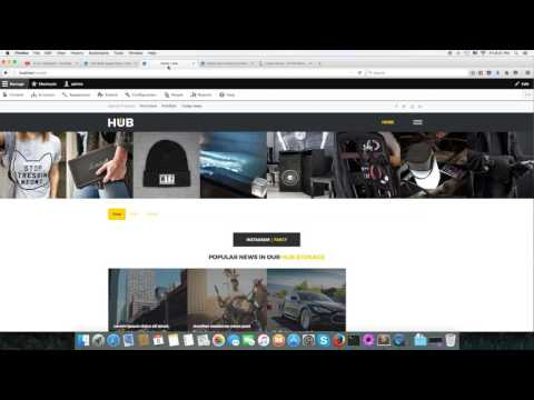 Hub   Homepage and Builder